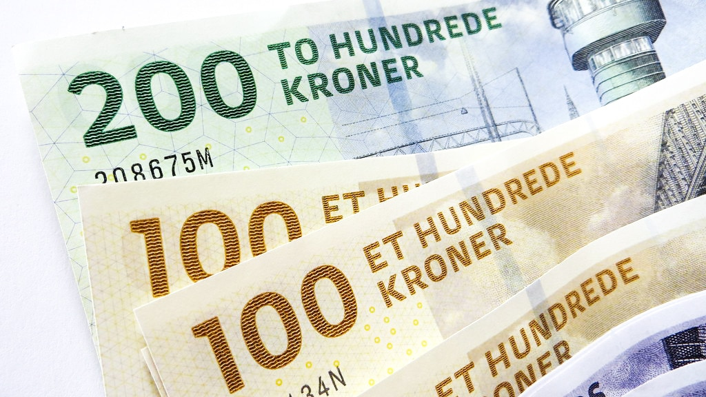Danish krone- currency in Greenland