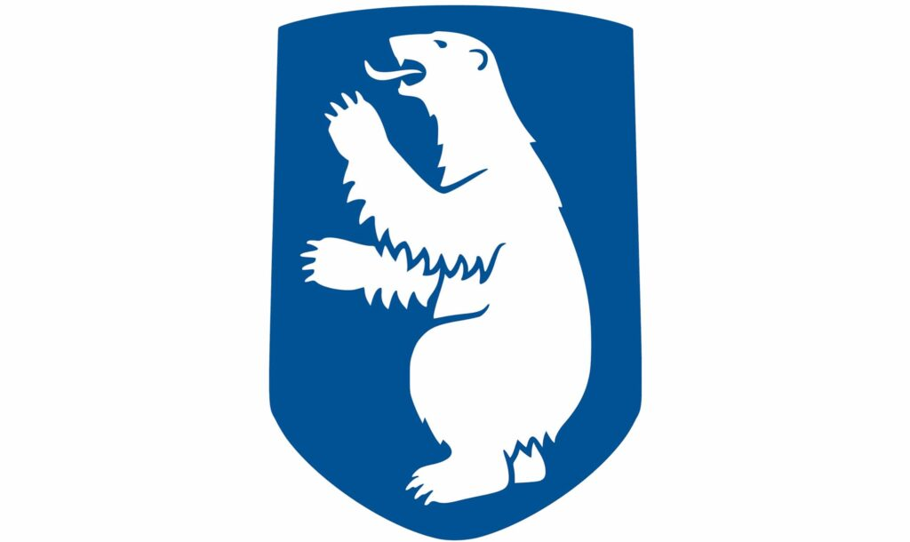 The Greenlandic Coat of Arms- polar bear