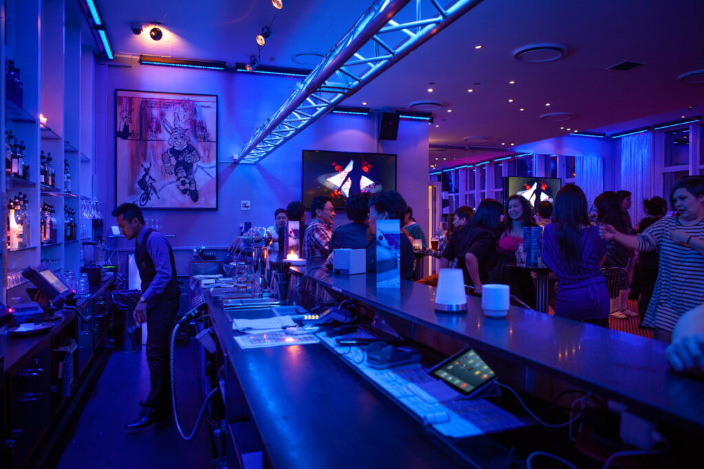 Skyline Bar at Hotel Hans Egede in Nuuk, Greenland