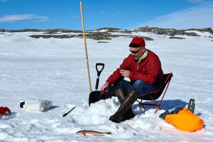 Arctic Char Ice fishing | Nuuk