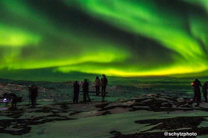 Chasing the Northern Lights | Ilulissat | Disko Bay