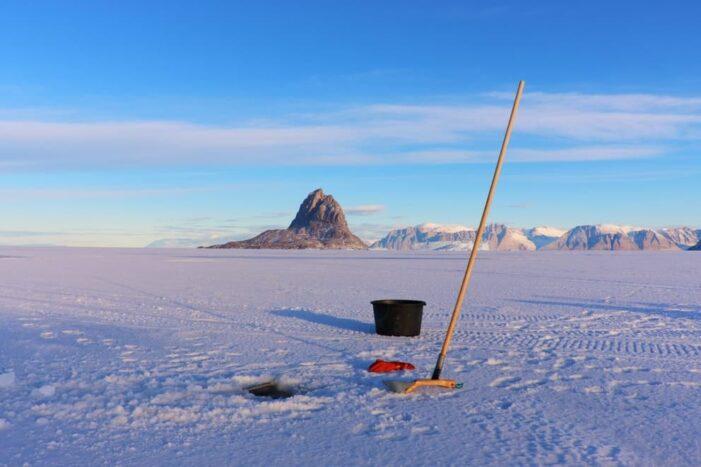 Ice fishing | Uummannaq | North Greenland