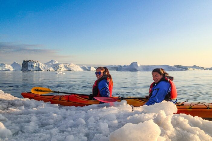 Kayaking tour from Tasiilaq | East Greenland