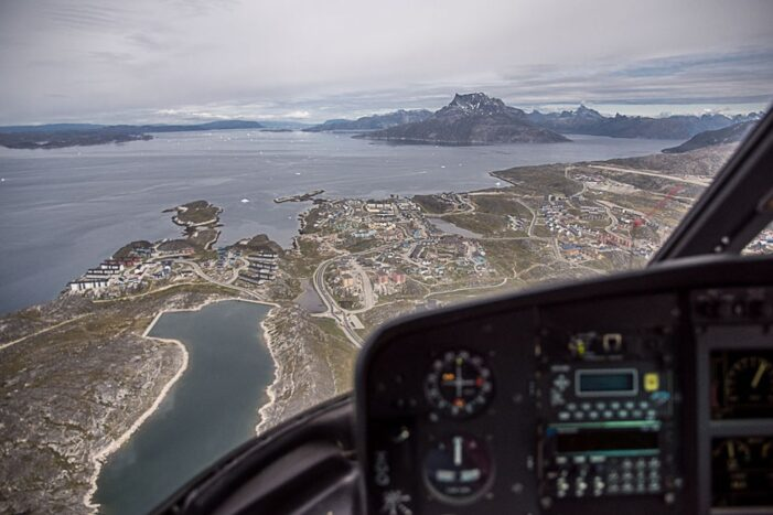 Scenic Flight | Nuuk