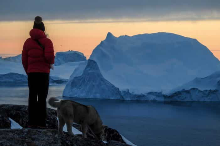 Snowshoe Hike Express To Ilulissat Icefjord | Disko Bay
