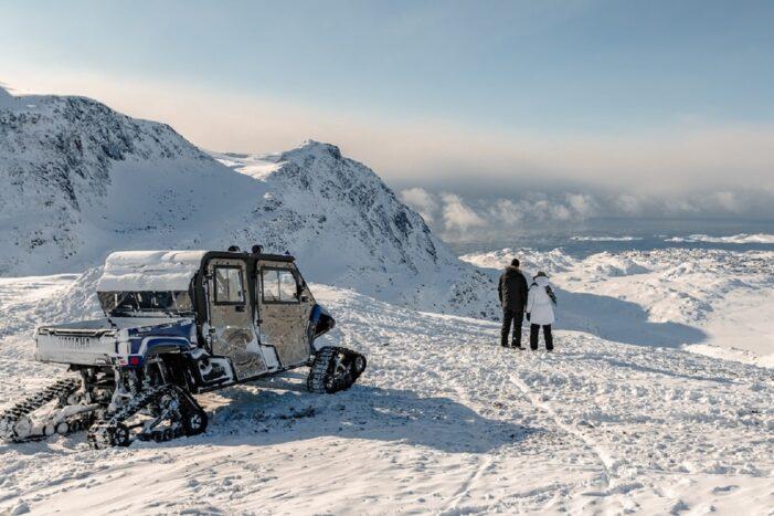 Vinter safari med monster slæde | Sisimiut