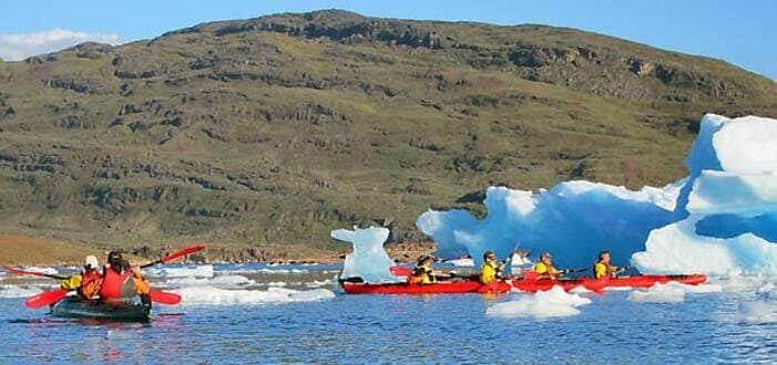Biking, hiking & kayaking | South Greenland