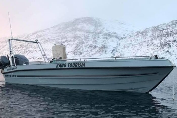 Boat Charter on P550 | Nuuk