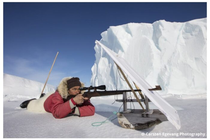 Dogsled expedition | Hunting and fishing on sea ice | Uummannaq | North Greenland