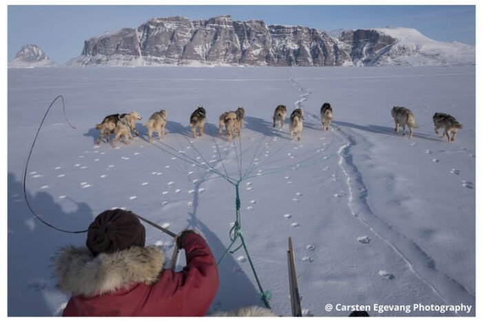 Dogsled expedition to settlements | Uummannaq | North Greenland