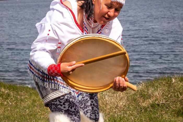 Experience traditional Inuit drum dancing | Tasiilaq | East Greenland