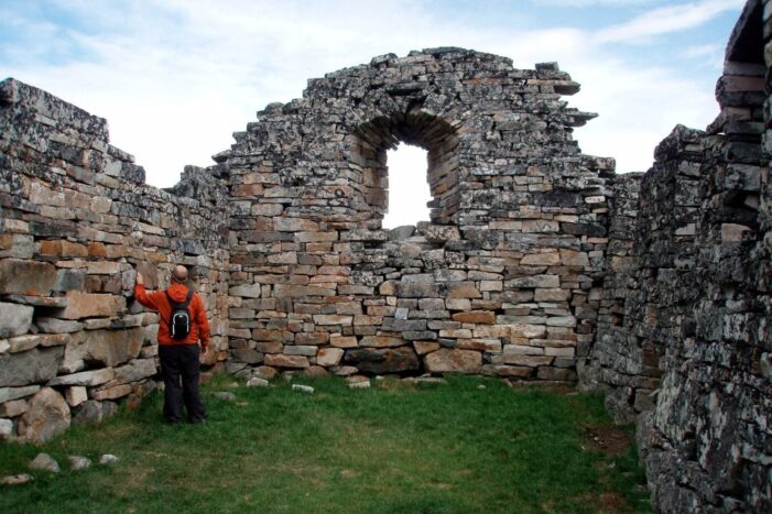 Explore The Norse Viking Ruins | Private tour | Qaqortoq | South Greenland