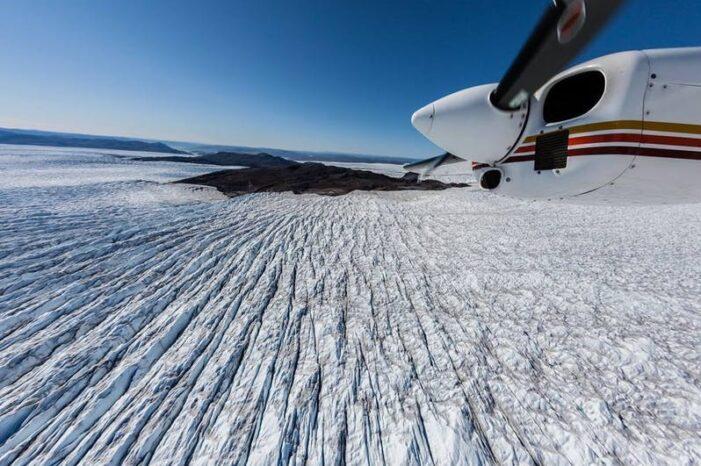 Flightseeing over Isfjorden | Ilulissat | Diskobugten
