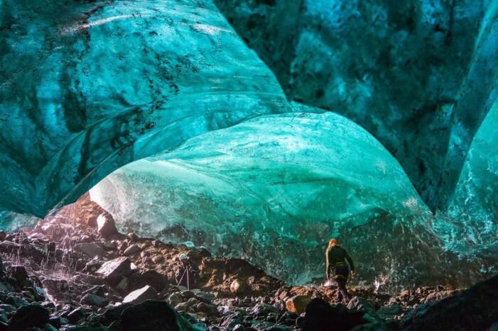 Glacier Walk & Ice Cave Tour | East Greenland