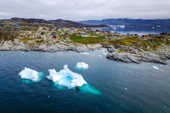 Guided Settlement Tour & Wilderness Hike | Waterfalls and Arctic Tundra | Ilulissat
