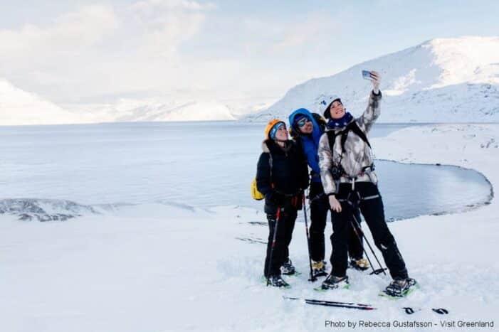 Snesko vandretur | Lille Malene | Nuuk