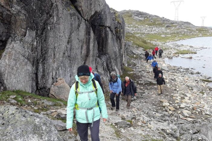 Hike among the Mountains | Nuuk