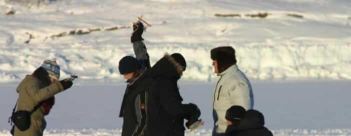 Is fiskeri | Kangerlussuaq | Vest Grønland