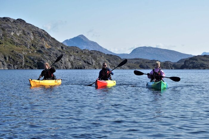 Kayaking & Arctic Char Fishing | Nuuk | West Greenland