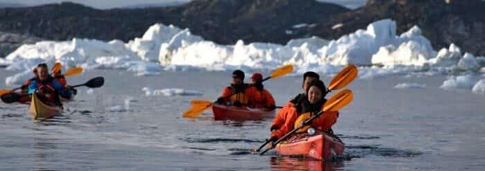 Kajak I Ilulissat Isfjord | Ilulissat | Disko Bay
