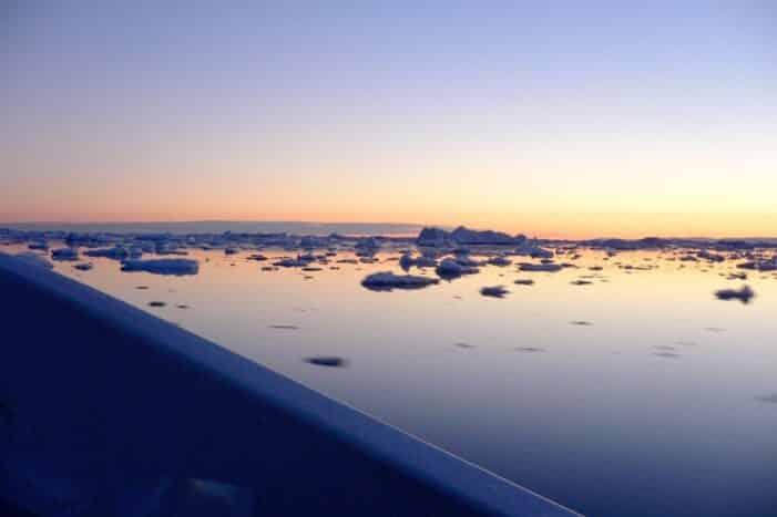 Midnatssejlads til Ilulissat Isfjord I Ilulissat I Diskobugten