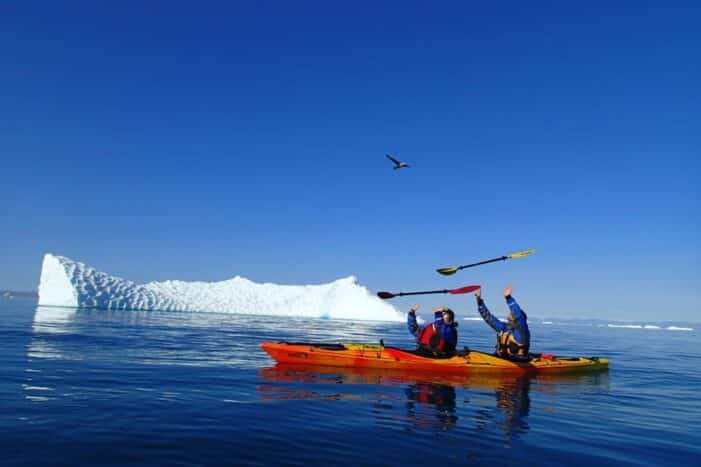 Morning Kayak among Icebergs | Ilulissat | Disko Bay