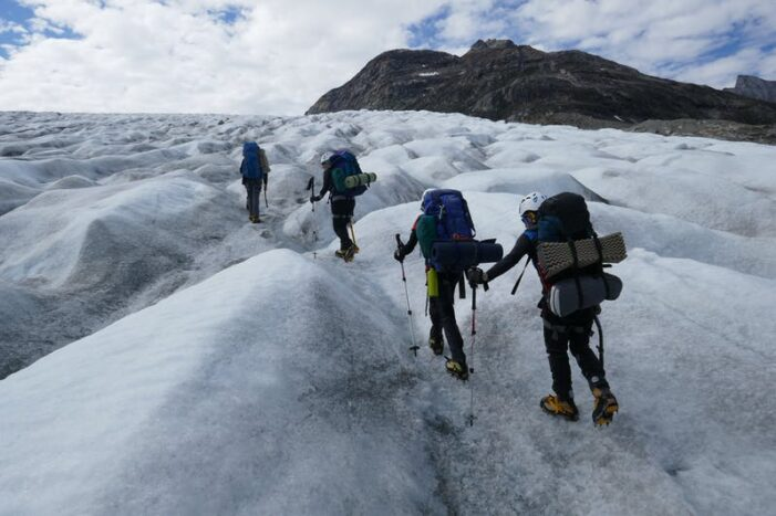 Mountaineering skills course | East Greenland