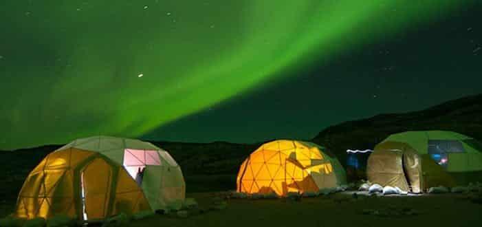 Udforsk nordlyset | Sydgrønland