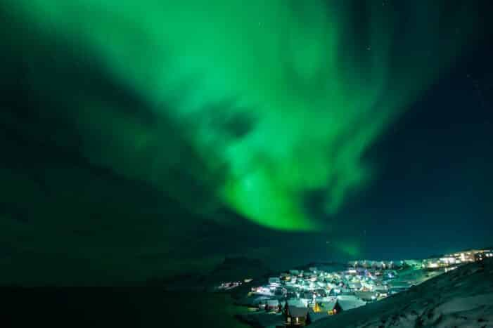 Northern Lights Tour | 3-Day Vacation Package | Nuuk | Greenland