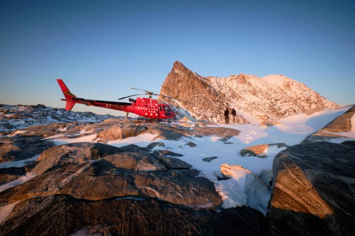 Helicopter Summit Flight | Nuuk