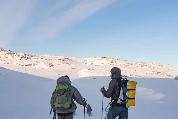 Overnight snowshoe adventure | Nuuk