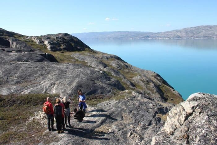 Sailing and hiking in the Kangerlussuaq fjord | West Greenland