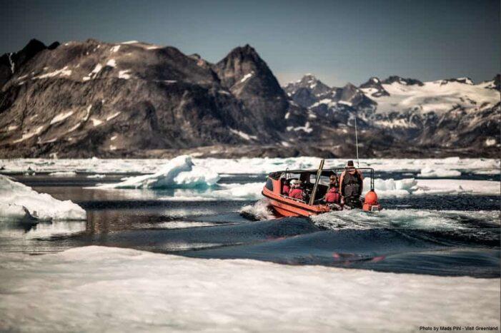 Sejltur til Karale & Knud Rasmussen Gletsjer | Tasiilaq | Øst Grønland