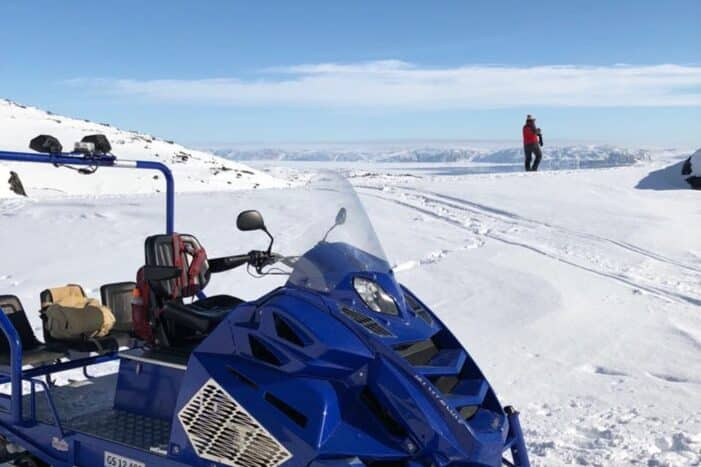 Snowmobile tour to small settlement | Ilulissat