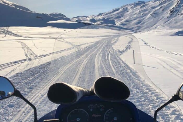 Snowmobile tour to UNESCO viewpoint | Ilulissat