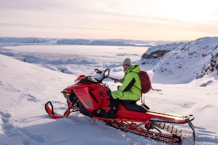 Snowmobile ride | Ilulissat | Disko Bay