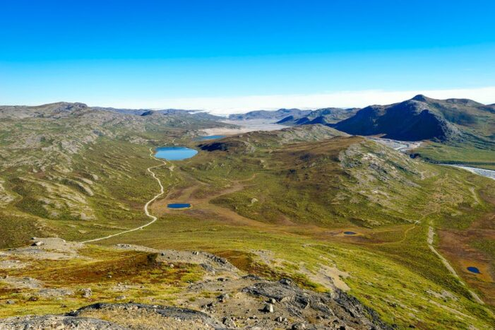 Vandretur til Sugarloaf bjerget | Kangerlussuaq | Vestgrønland