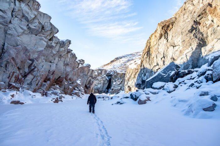 Waterfall Hike | Kangerlussuaq | West Greenland