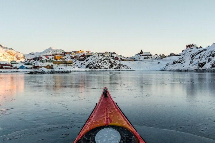 Winter kayaking tour | Sisimiut