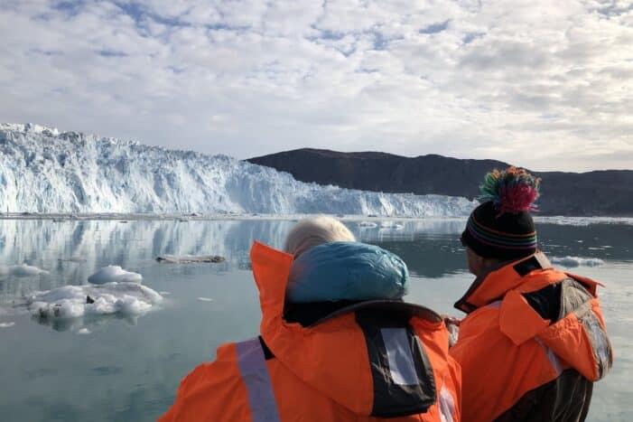 Se den episke Eqi-gletscher med båd | Ilulissat