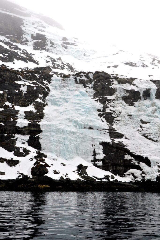 Waterfall - Nuuk fjord