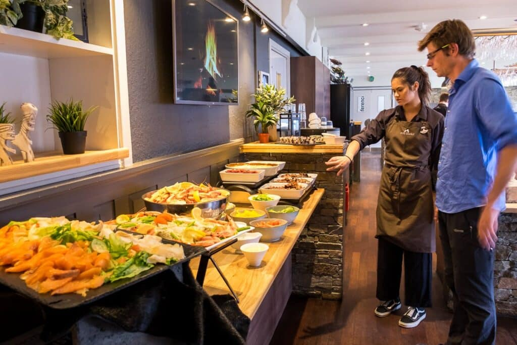 Learning about the Traditional Greenlandic Buffet at the Hotel Sisimiut - Guide to Greenland