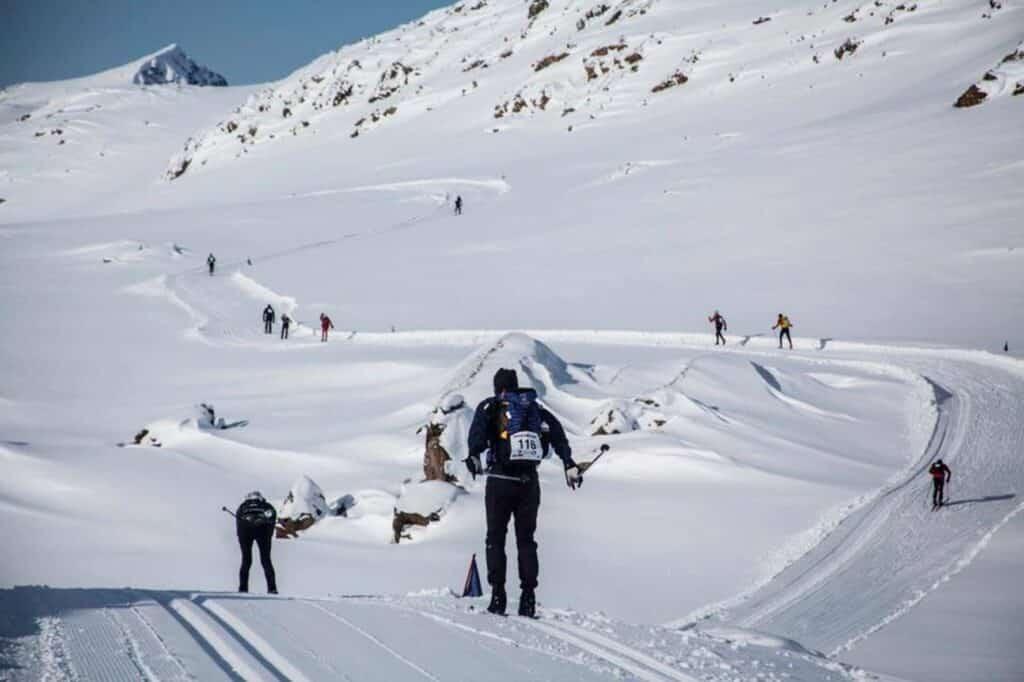 Participants during the Arctic Circle Race