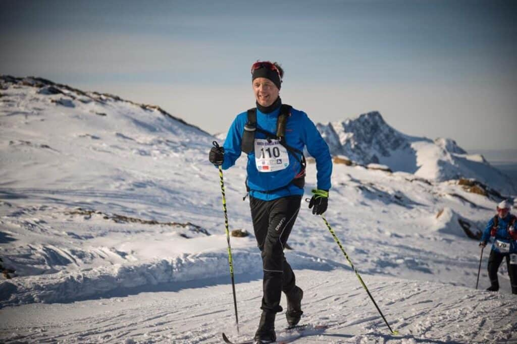 Crown Prince of Denmark during Arctic Circle Race