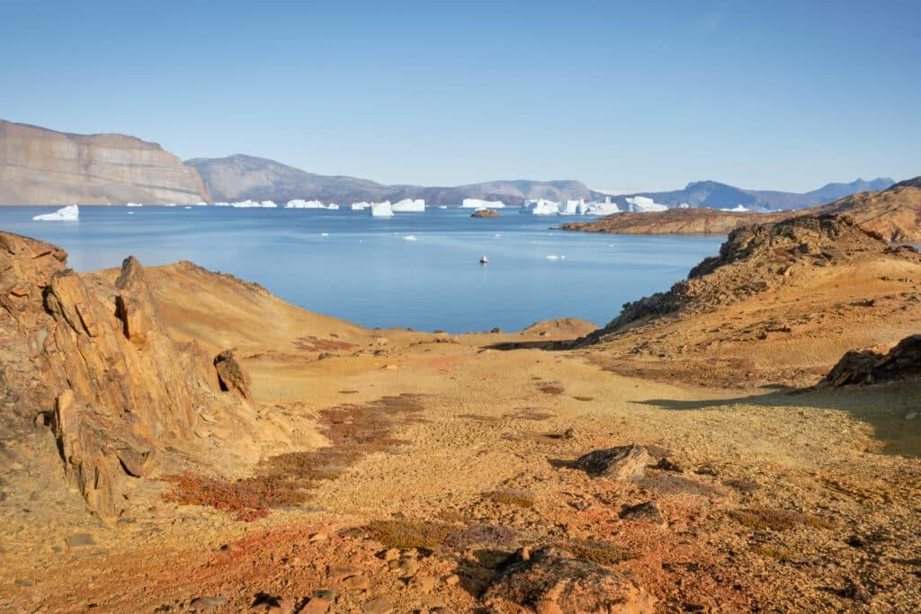 Uummannaq desert and fjord