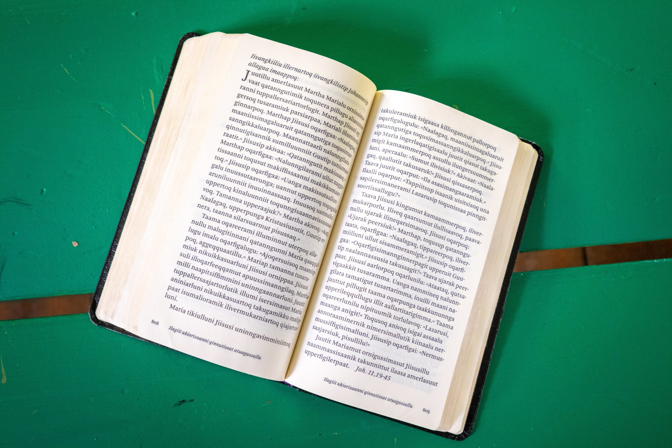 Bible in the West Greenlandic Language