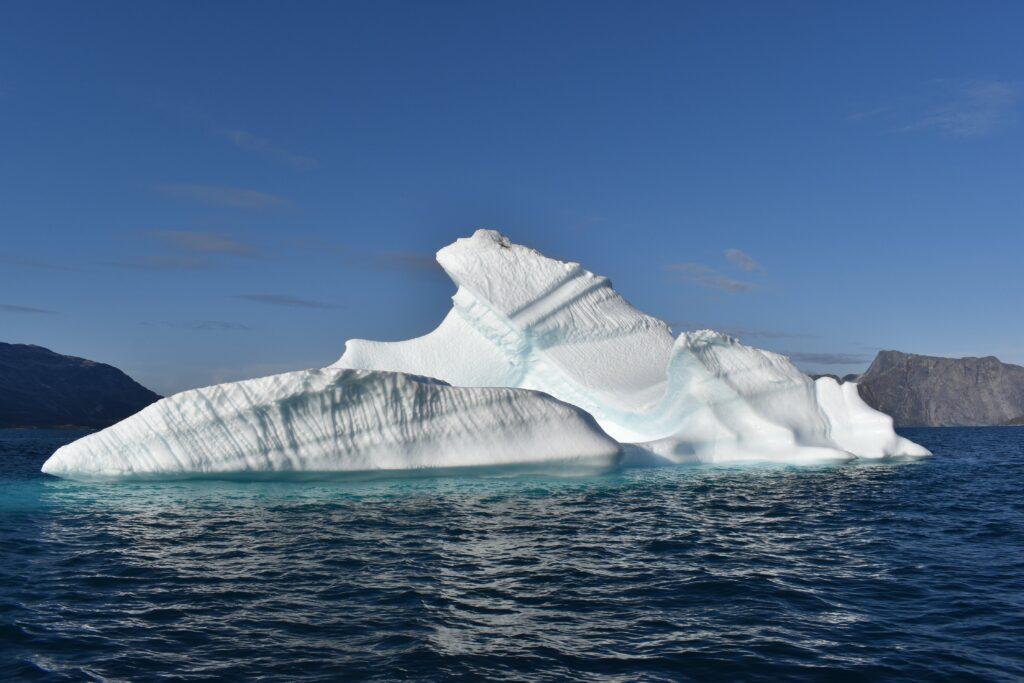 Big iceberg in the water