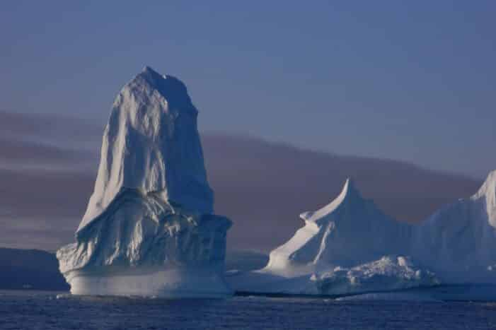 Boat trip among icebergs, searching for narwhal | Qaanaaq