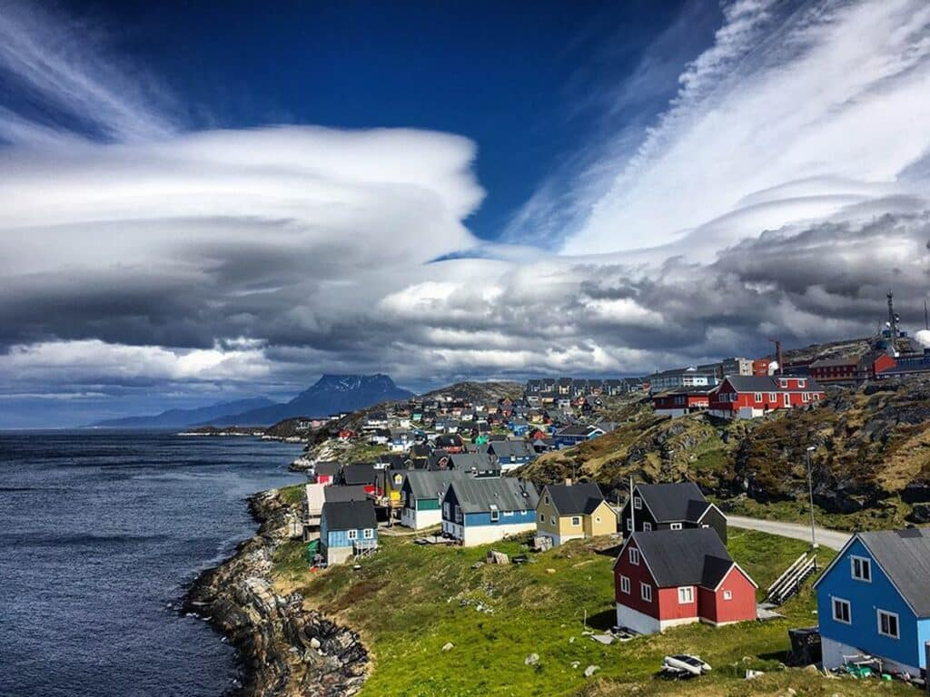 Myggedalen in Nuuk, the capital of Greenland
