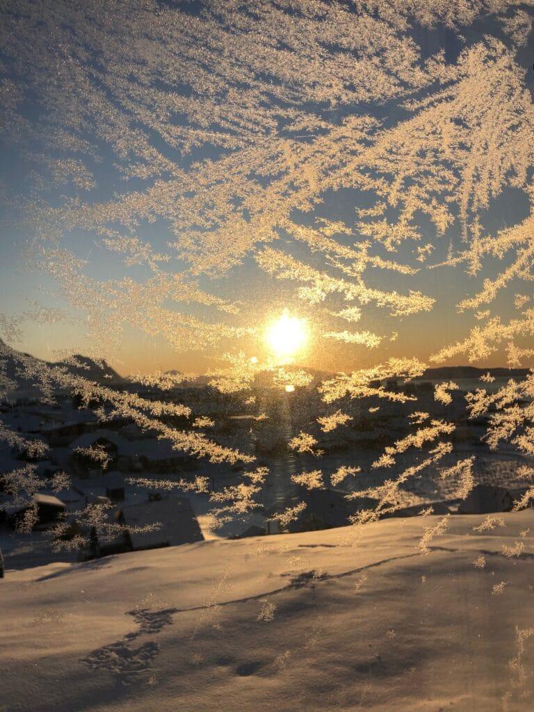 Nuuk in winter